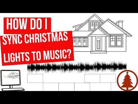 How Do You Sync Christmas Lights To Music?