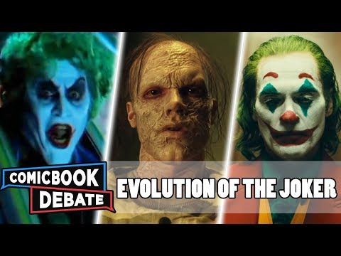 Evolution Of The Joker In Movies & TV In 9 Minutes (2019)