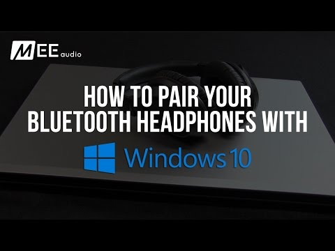 How To Pair Your Bluetooth Headphones With Windows 10 Youtube