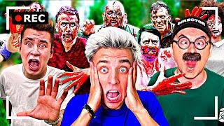 Как снимали А4: Кто последний выживет в Зомби - апокалипсис!