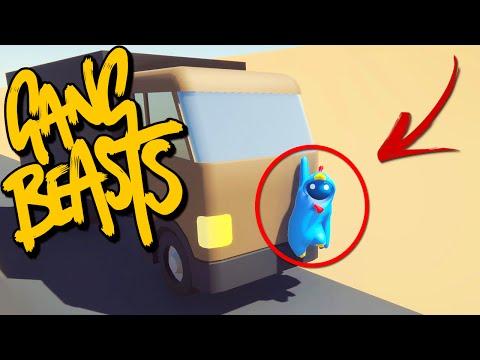ACHAMOS UM HACKER ?! - Gang Beasts Online