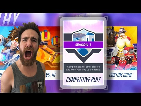 GOING FOR THE 10/0! - OVERWATCH COMPETITIVE