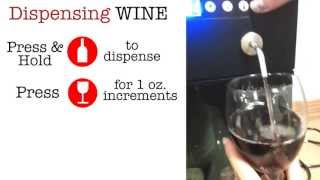 Vinotemp How To Operate Your 2 Or 4 Bottle Wine Dispenser