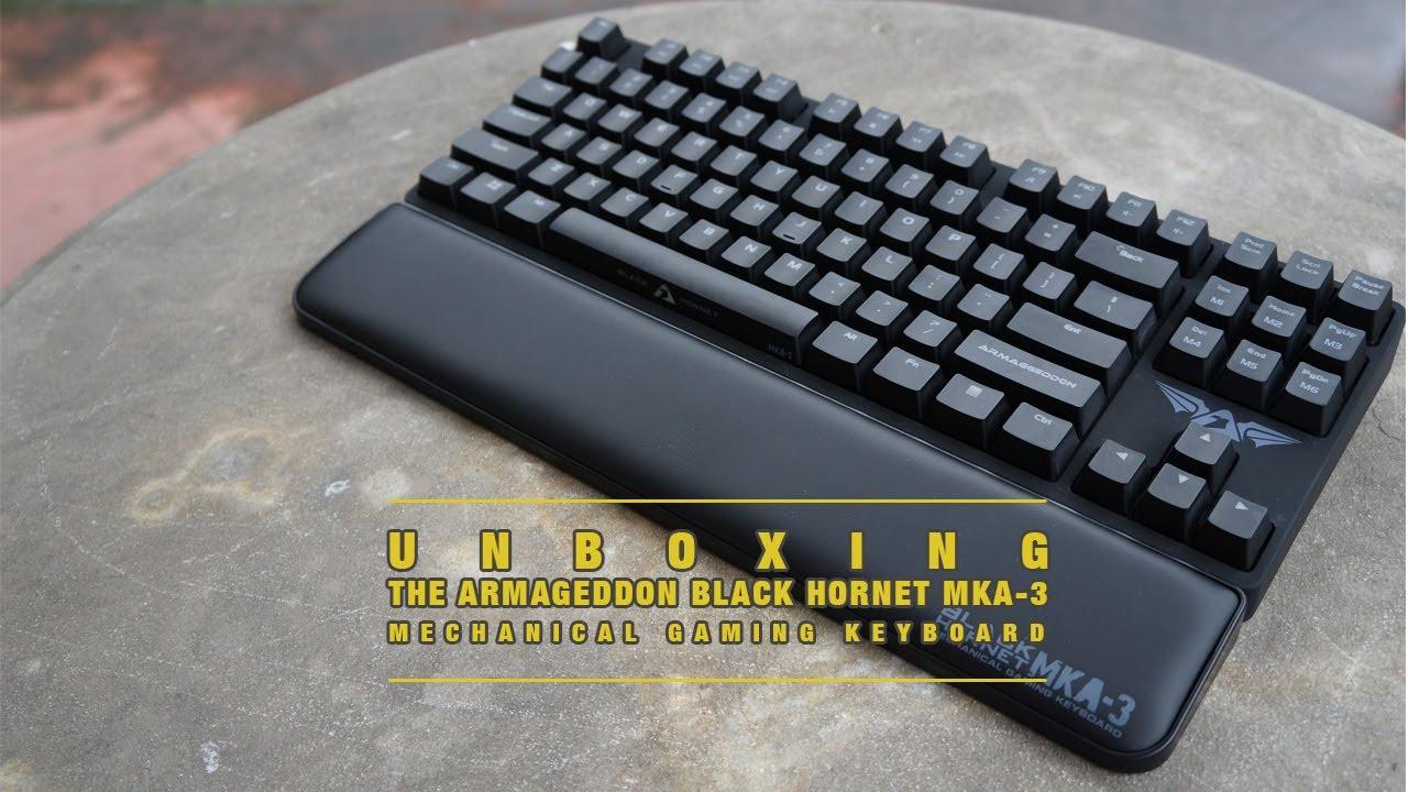 Snap The Mechanical Armageddon Photos On Pinterest Armaggeddon Gaming Keyboard Mka 3c Psychfalcon Teamtechsquad Unboxing Of 3 Black Hornet Youtube