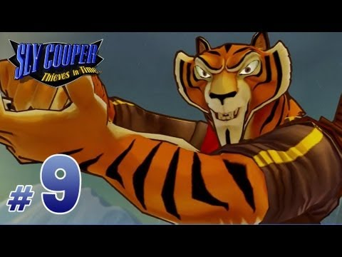 Sly Cooper: Thieves in Time Walkthrough - Part 9 - El Jefe Boss Fight in Altitude Sickness
