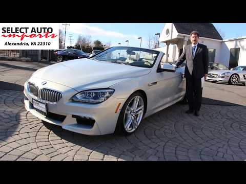 2015 BMW 650i Convertible, Moonstone, M Sport Edition, Select Auto Imports In Alexandria, VA #19327