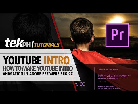 How to Create YouTube Intro Animation in Adobe Premiere CC