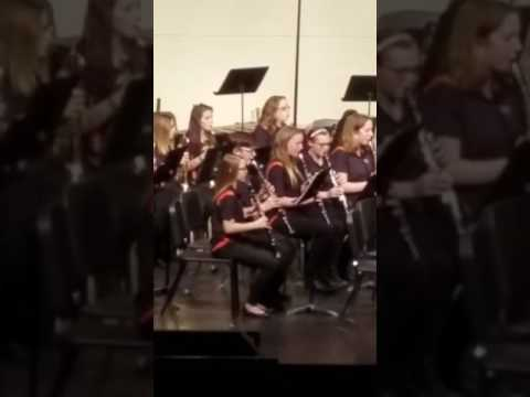 2/23 Kenzie's Band Concert @ Flushing Middle School