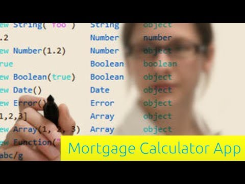 Mortgage Calculator App - JavaScript Tutorial for Beginners