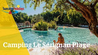 360° video campingtour op Camping Le Sérignan Plage - Suncamp holidays