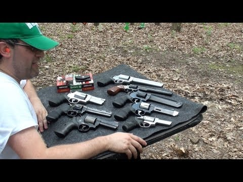 Revolveres, ¿Cual es el Mejor Revolver?  Armas en el Campo de Tiro, en Español