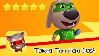 Talking Tom Hero Dash Run Game Day74 Walkthrough Cruisin' Recommend index five stars