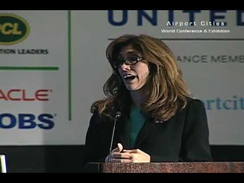 Rosemarie S Andolino, commissioner of the Chicago Department of Aviation, speaks at ACE 2012