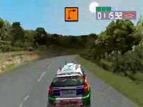 psx colin mcrae rally 2 0  ingame  youtube