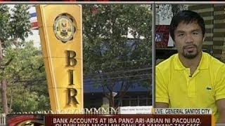 24Oras: P2.2-B na halaga ng buwis, hinahabol ng BIR kay Pacquiao
