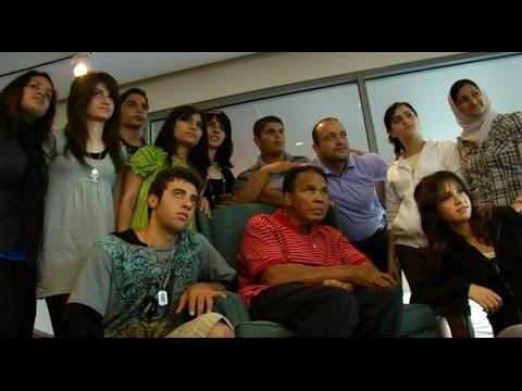 Muhammad Ali meets Young Iraqi Leaders, 2009