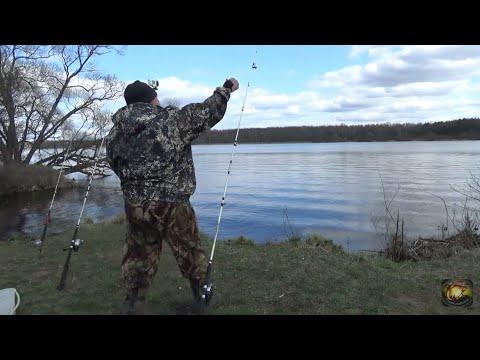 Открытие рыболовного сезона на донки по ловле леща и другой мирной рыбы, ловля на пенопласт корволол