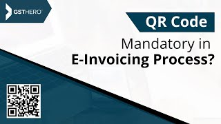 ... e-invoicing is compulsory for businesses with turnover above 100crores from april 2020. e-invoice