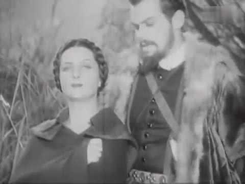 W starym kinie   - BARBARA RADZIWILLOWNA - 1936