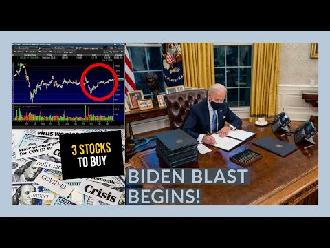 I'M BUYING ONE STOCK FOR EARNINGS TOMORROW! - My Watchlist - Stock Market Reacts To BIDEN & NFLX