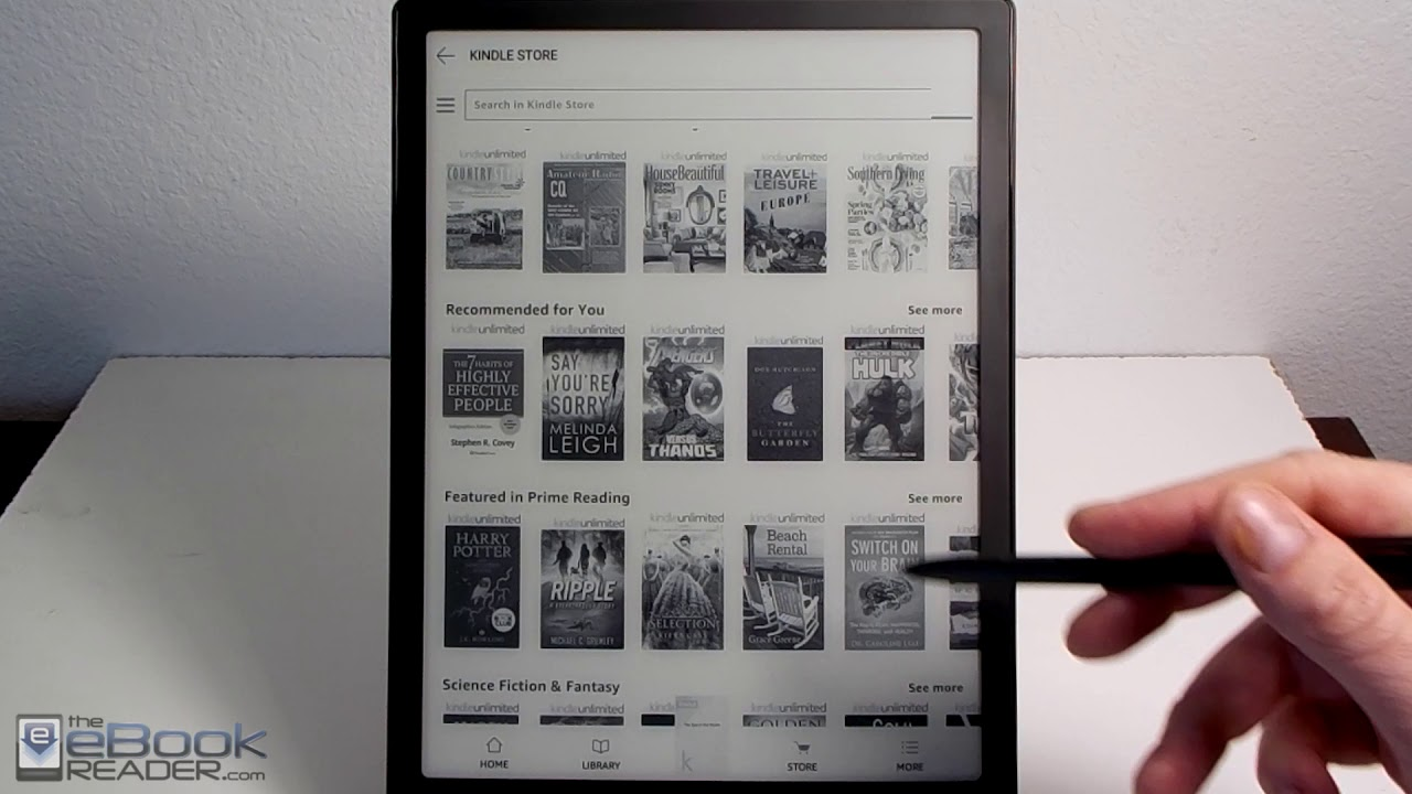 Onyx Boox Note Kindle App Review