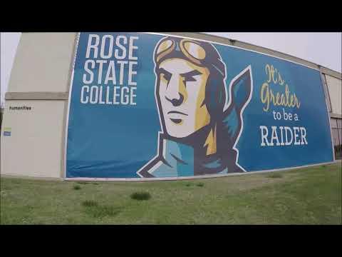Rose State College ~ Campus Tour April 10, 2020