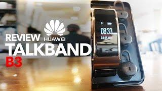 Huawei Talkband B3, Review en Español