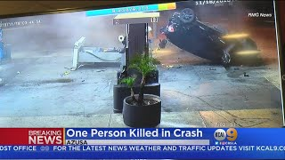 Video: Suspected DUI Driver Slams Into Azusa Gas Station In Fatal Crash