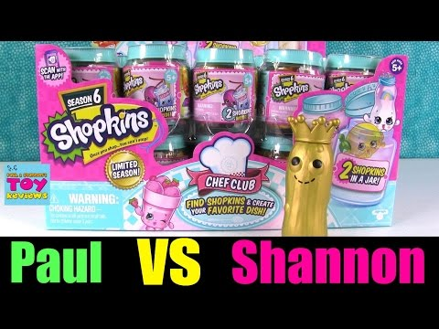 Paul vs Shannon Shopkins Chef Club Season...
