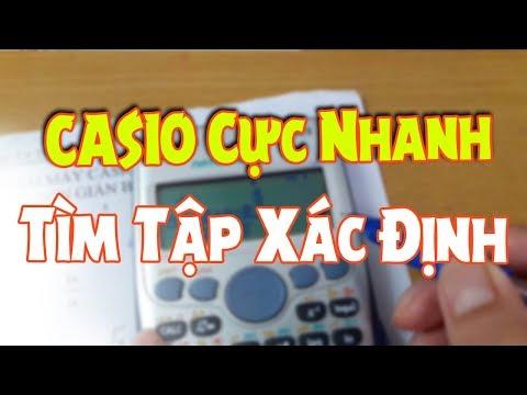 Casio Cực Nhanh - Tìm Tập Xác Định
