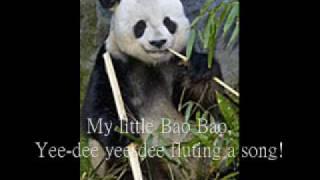 Panda Gao Gao Sings Purple Bamboo Song