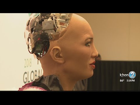 sophia-the-robot-makes-hawaii-debut-at-global-tourism-summit