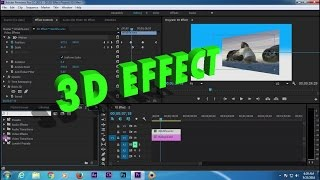 Adobe Premiere CC  3D effect Tutorial