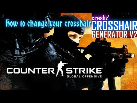 how to change your crosshair in csgo
