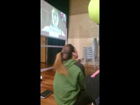 Tongan Girl singing KEN LEE! Karaoke Version