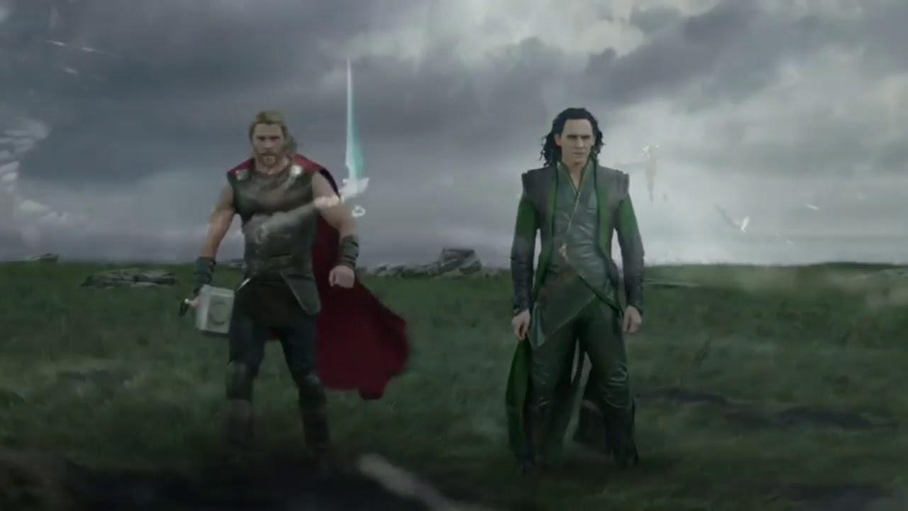 Thor Ragnarok Suit Up Scene Youtube