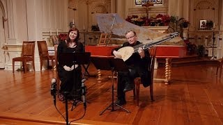 John Dowland: Flow my tears (Lachrimae); Phoebe Jevtovic Rosquist, soprano & David Tayler, lute