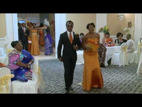 Bridal Party & Groomsmen Entrance Dance African Nigerian Wedding Videographer Photographer