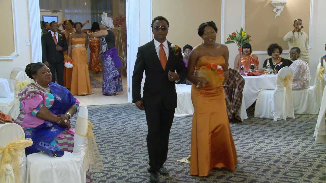Bridal Party Groomsmen Entrance Dance African Nigerian Wedding Videographer Photographer You