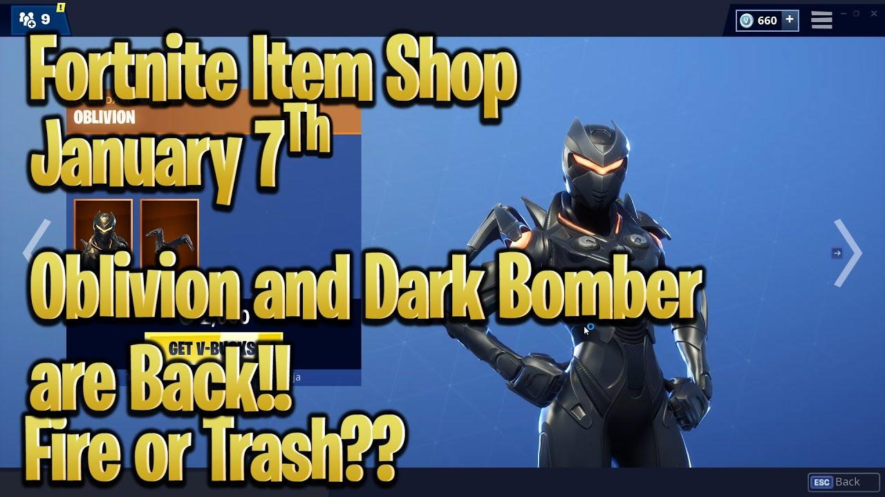 fortnite item shop today january 7th 2019 fortnite