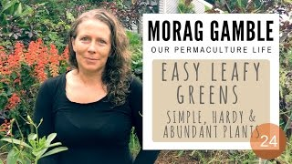 Five easy leafy greens: Simple hardy and abundant