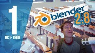 Getting Started in Blender using 2.8 - BC1-1808 - Week 1