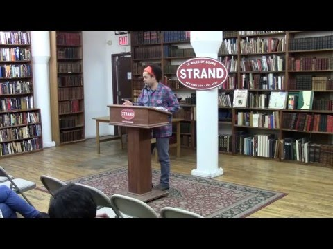 Micah White at Strand Books talking about THE END OF PROTEST