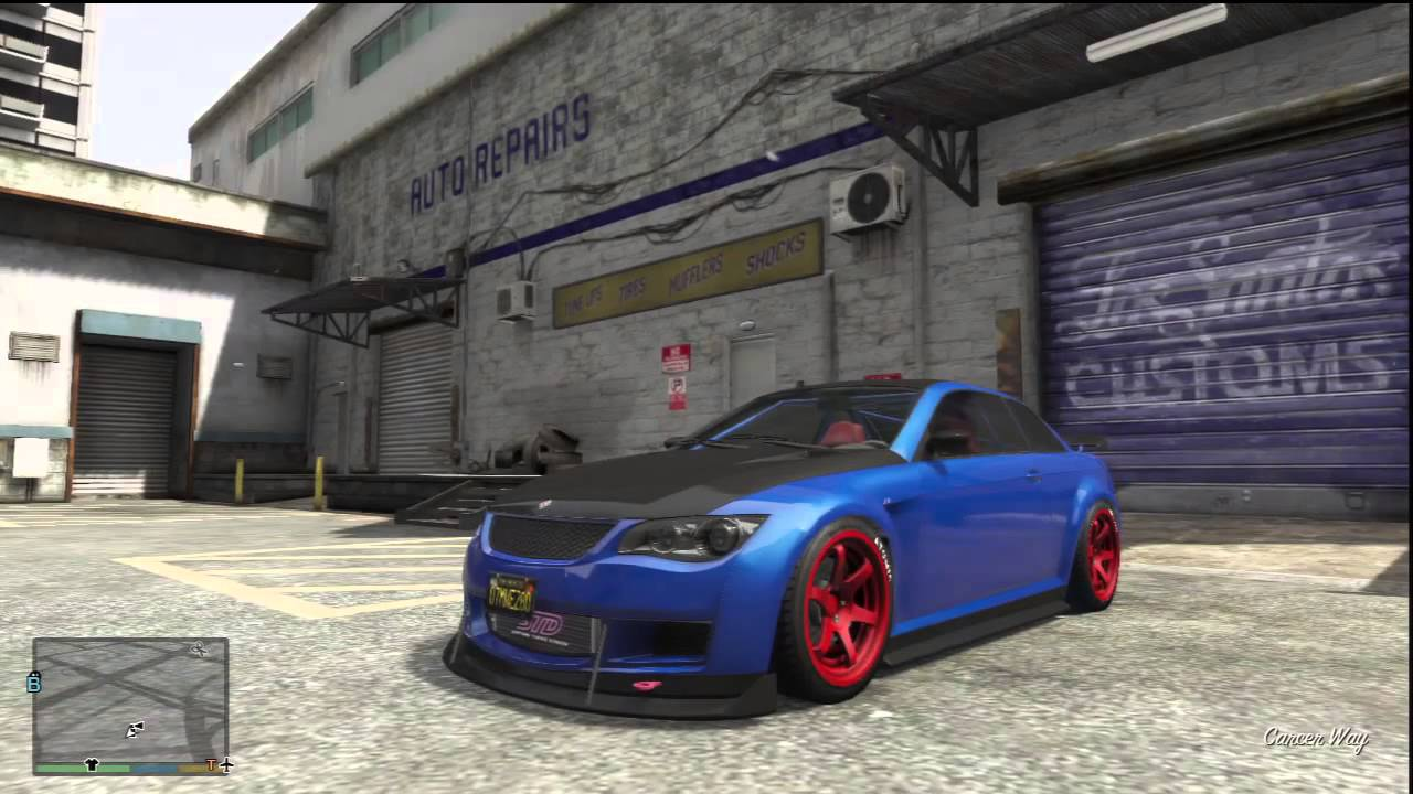 GTA V: Car Customization: Ubermacht Sentinel XS, Sports ... Ubermacht Sentinel Xs Gta 5 Location