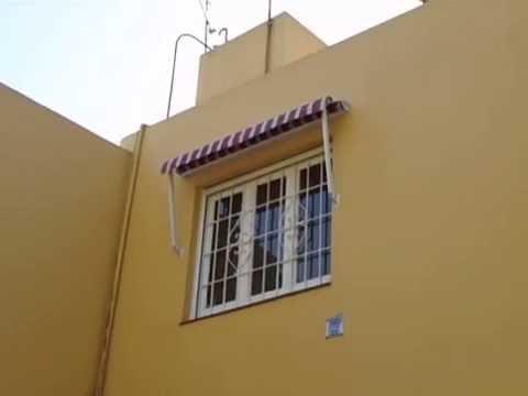 toldo para ventana casero