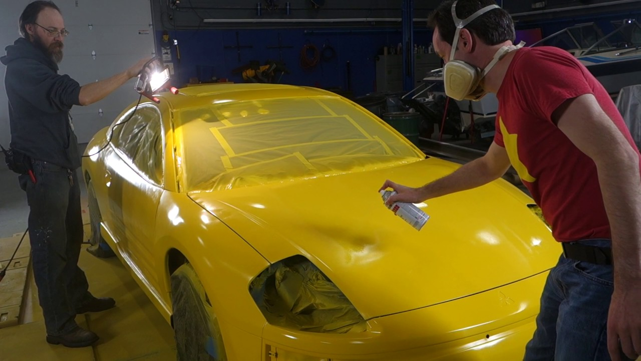 How To Paint Your Car With Rustoleum