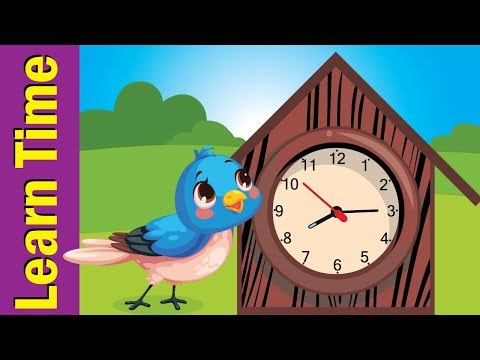 Tell The Time Song #2 | Learn To Tell Time For Kids | Fun Kids English