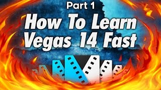 How To Use Sony Vegas Pro 14 For Beginners! Part 1 - Tutorial #168 Video