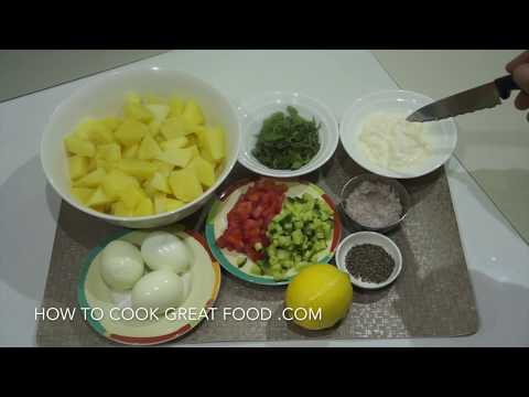 Potato & Egg Mayo Salad Recipe