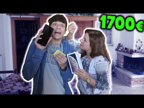 HO COMPRATO 1700€ di IPHONE XS MAX con la CARTA DI CREDITO di MIA MAMMA!!!
